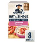 Quaker Oat So Simple Summer Berries Porridge 8x35.3g