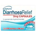 Galpharm Diarrhoea Relief 2 Mg Capsules