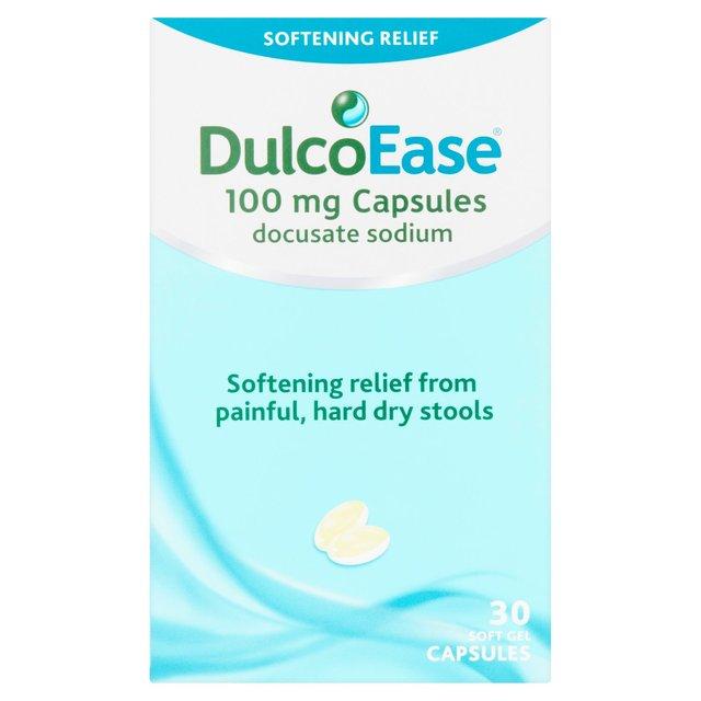 Dulcoease Stool Softener Capsules