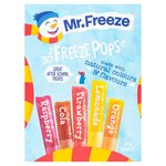 Mr Freeze Freezepops Assorted Classic 30s