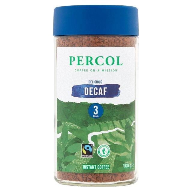 Percol Fairtrade Decaf Colombia Instant Coffee