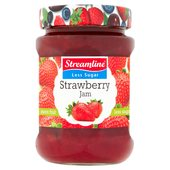 Streamline Low Sugar Strawberry Jam