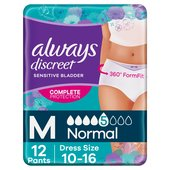 Always Discreet Incontinence Pants Normal M