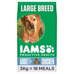 Iams Dog Food Large Adult Chicken