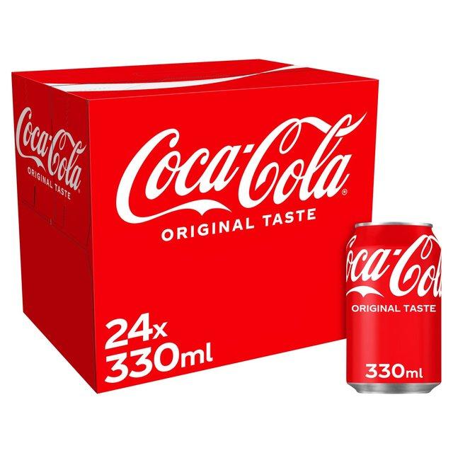 MORRISONS > Food Cupboard > Coca Cola Cans