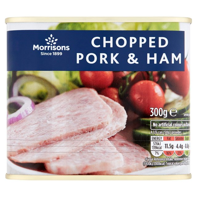 Morrisons Chopped Pork & Ham