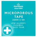 Morrisons Microporous Tape