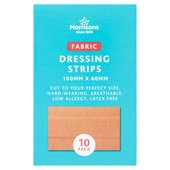 Morrisons Fabric Dressing Strips