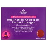 Morrisons Dual Action Blackcurrant Lozenges