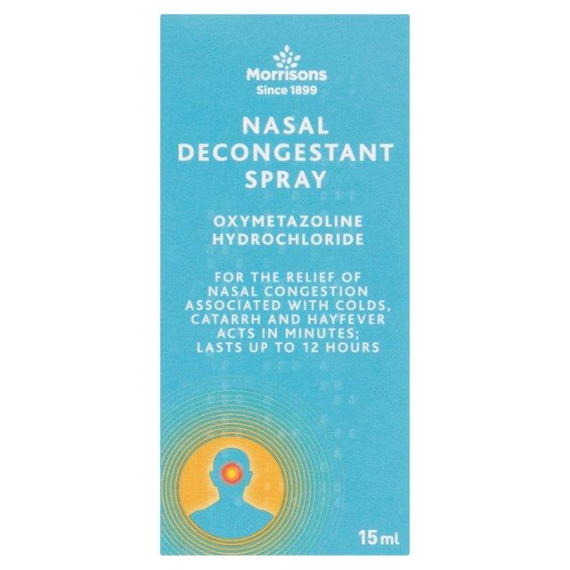 Morrisons Morrisons Nasal Decongestant Spray 15ml Product