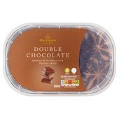 Morrisons Double Chocolate Ice Cream Sundae