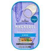 Morrisons Mackerel In Brine (125g)