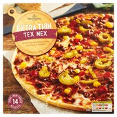 Morrisons Extra Thin Tex Mex Pizza