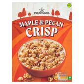 Morrisons Maple & Pecan Clusters