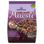 Morrisons Extra Fruity Muesli