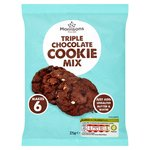 Morrisons Triple Chocolate Cookie Mix