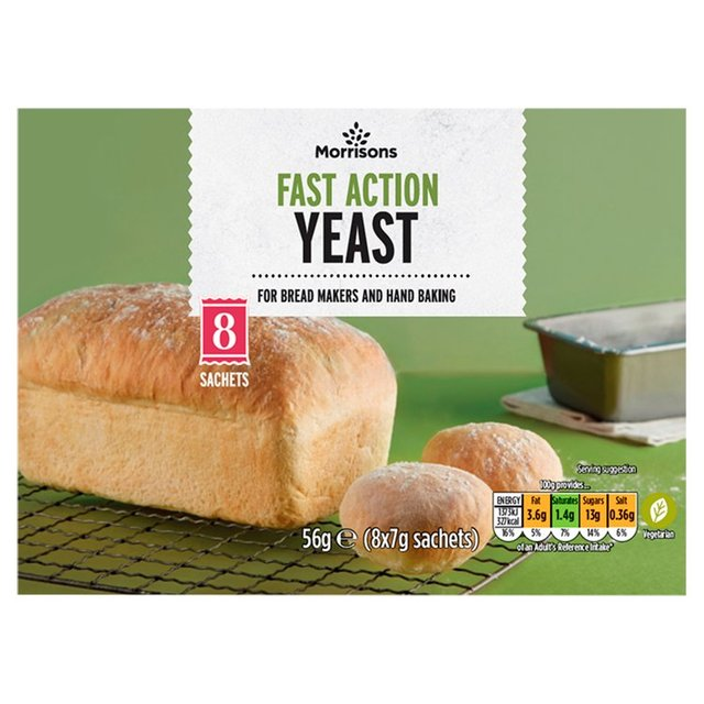 Morrisons Fast Action Yeast Sachets