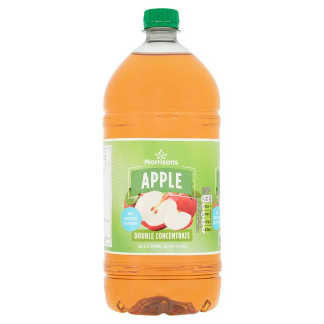 Morrisons Nas Apple Squash Double Concentrate