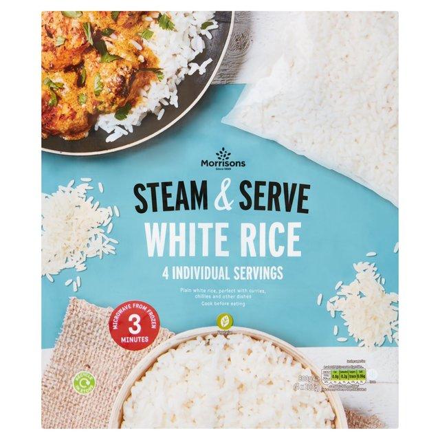 Morrisons 4 White Rice