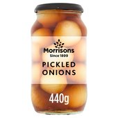 Morrisons Pickled Onions   (440g)