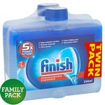 Finish Dishwasher Cleaner Twin Pack