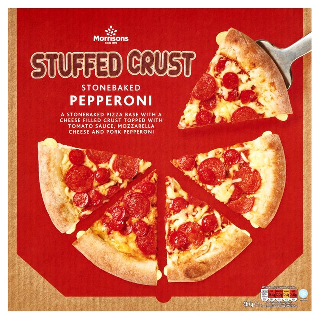 Morrisons Take Away Stuffed Crust Pepperoni Pizza