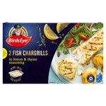 Birds Eye Inspirations 2 Fish Chargrills With Lemon, Herb & Thyme