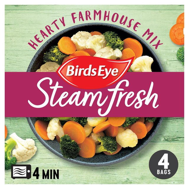 Birds Eye Steamfresh 4 Hearty Farmhouse Vegetable Mix