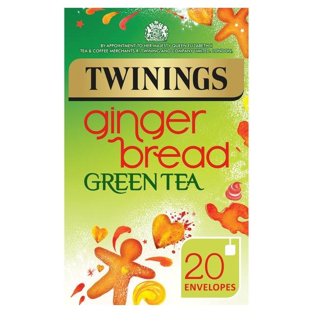 Twinings Gingerbread Green Tea 20s