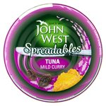 John West Tuna Spreadables Mild Curry