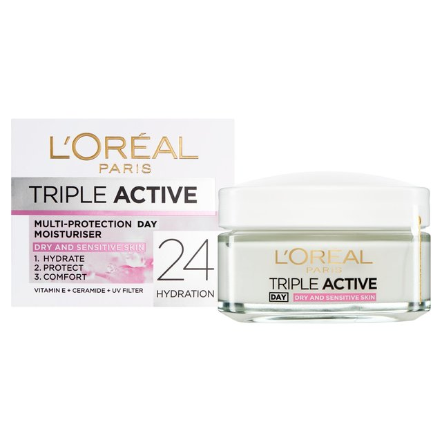 L'Oreal Triple Active Day Sensitive