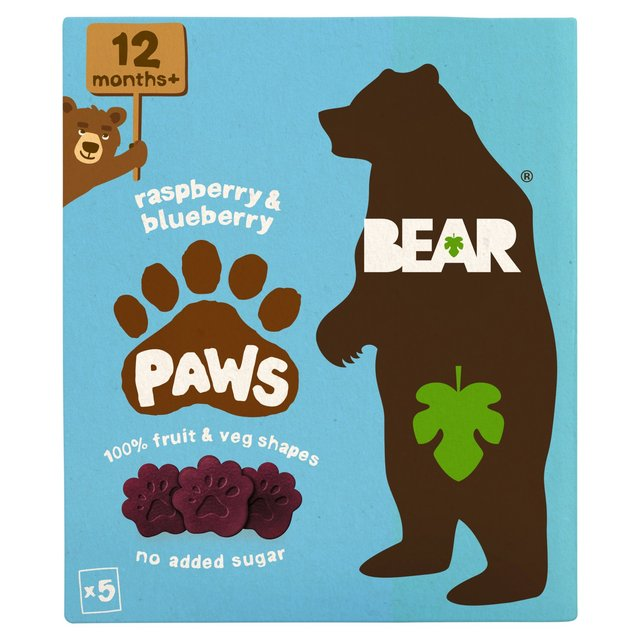 BEAR Paws Raspberry & Blueberry +12 Months
