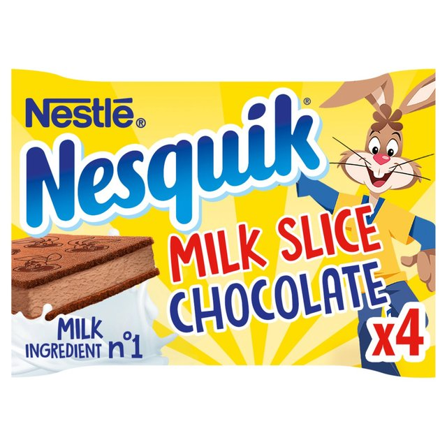 Strawberry Nesquik Cake