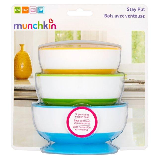 Munchkin Stay Put Munchkin Bowls