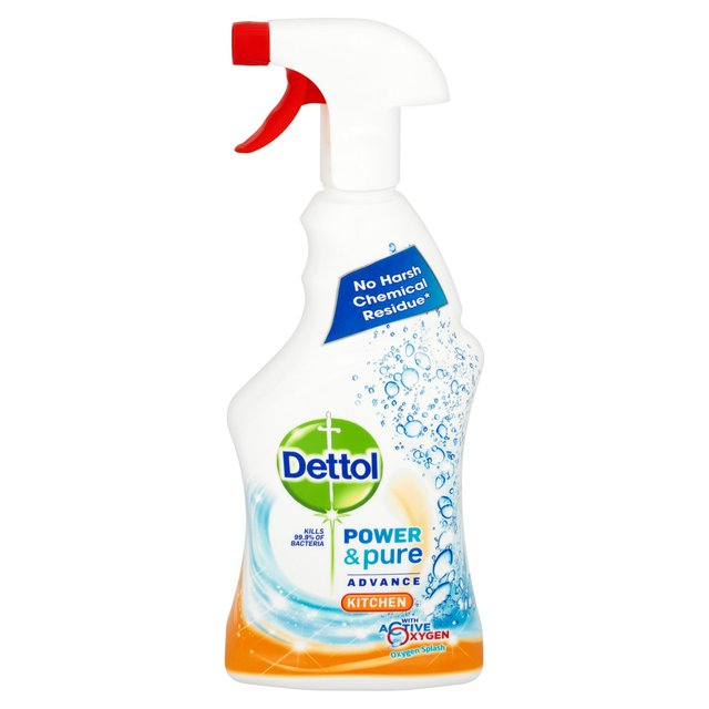 Morrisons Dettol Power Pure Kitchen Cleaner Spray MlProduct - Kitchen cleaner