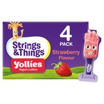 Strings & Things Yollies Strawberry Kids Yogurt