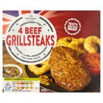 Morrisons 4 Beef Grill Steaks