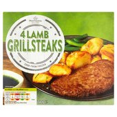Morrisons 4 Lamb Grills Steaks