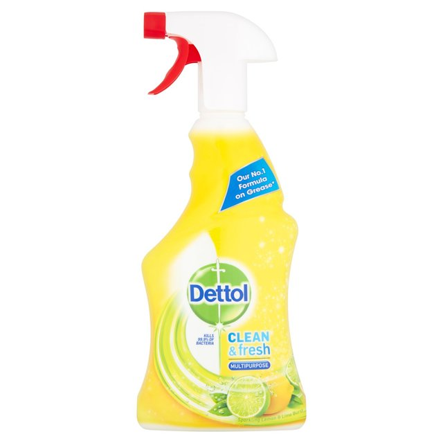 Dettol Power & Fresh Multi Purpose Cleaner Spray Lemon & Lime