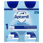 Aptamil 1 First Baby Milk Formula Multipack From Birth