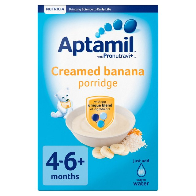 Aptamil Creamed Banana Porridge Baby Cereal