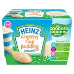 Heinz Dessert Pot Creamy Rice Pudding
