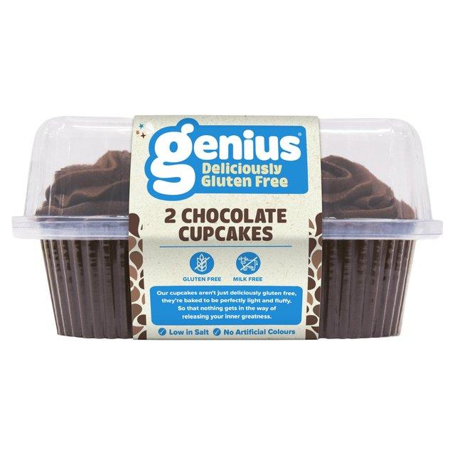 Genius Gluten Free Chocolate Cupcake