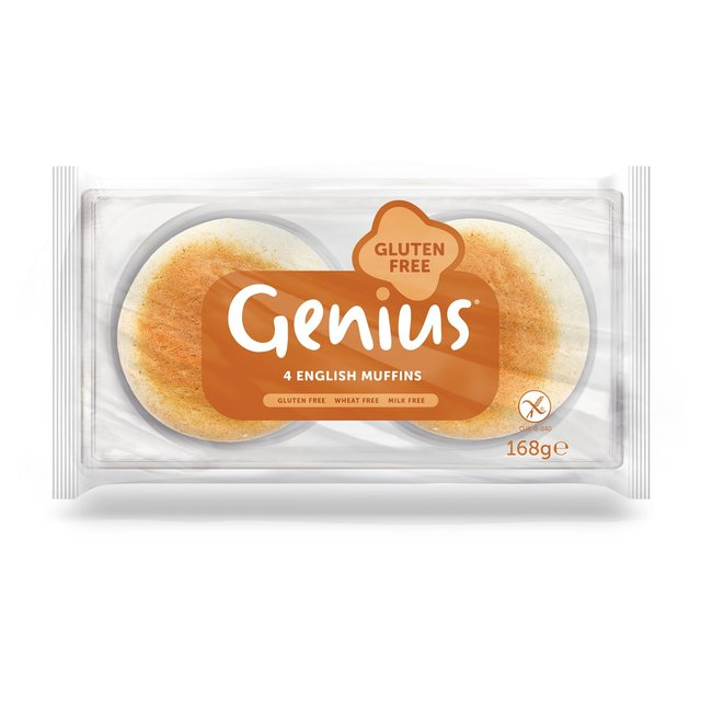Morrisons: Genius Gluten Free English Muffin 4 per pack(Product ...