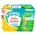 Heinz Fruit Custard Banana Pot