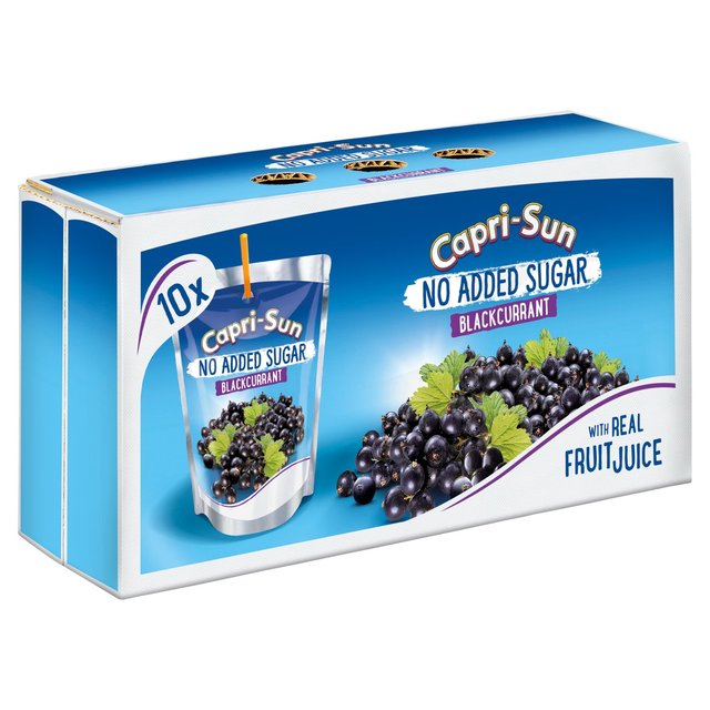 Capri Sun No Added Sugar Blackcurrant