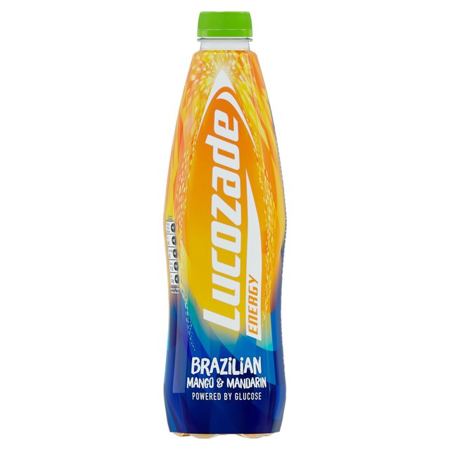 Lucozade Energy Mango & Mandarin The Brazilian