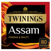 Twinings Assam Tea Bags 80s