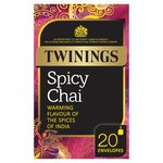 Twinings Spicy Chai Tea 20s