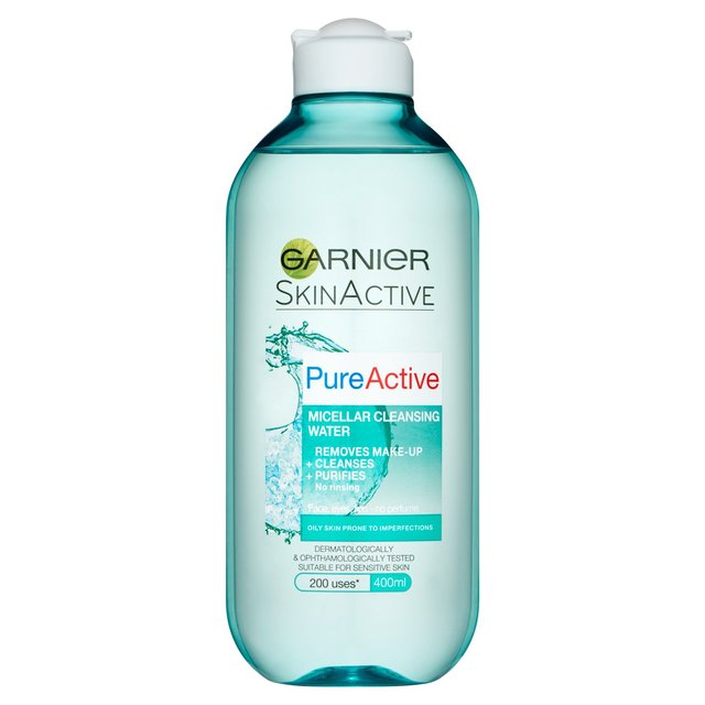 garnier pure active micellar water review